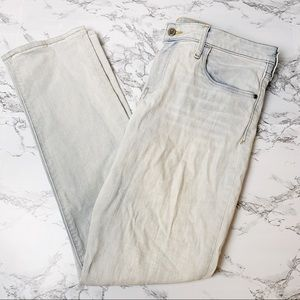 Pilcro and the Letterpress Light Wash Stet Jeans
